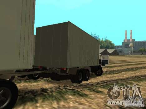 KAMAZ 53212 for GTA San Andreas back left view