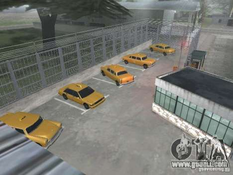 The first taxi Park version 1.0 for GTA San Andreas third screenshot