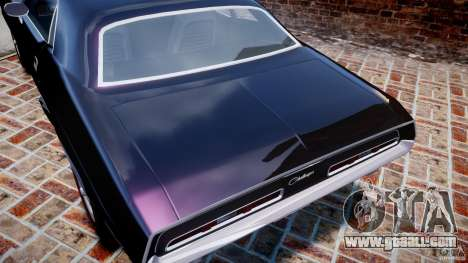Dodge Challenger 1971 RT for GTA 4 engine