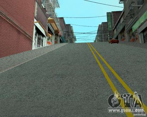 New roads in San Fierro for GTA San Andreas second screenshot