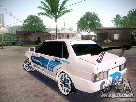 VAZ 21099 Drift Style for GTA San Andreas back left view
