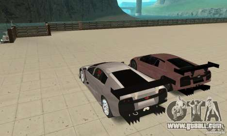 Lamborghini Murcielago R GT for GTA San Andreas engine