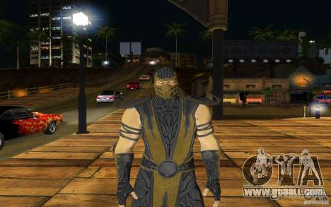 Scorpion v2.2 MK 9 for GTA San Andreas