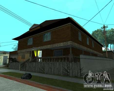 New home CJâ for GTA San Andreas third screenshot