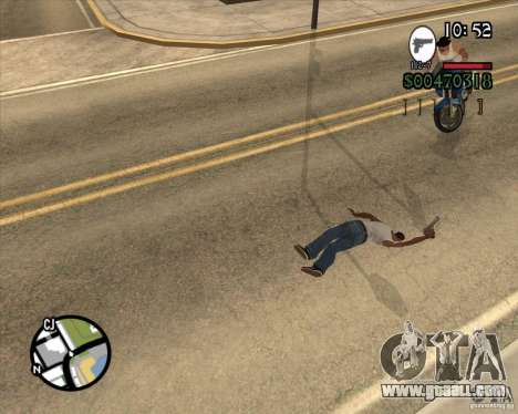 Endorphin Mod v.3 for GTA San Andreas third screenshot