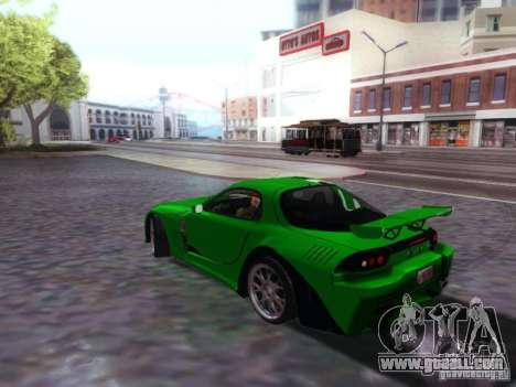 Mazda RX7 for GTA San Andreas left view