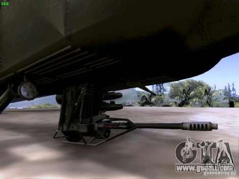 HD Hunter for GTA San Andreas engine