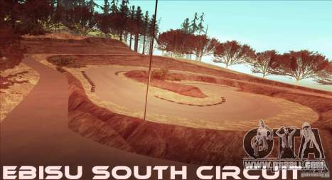 The Ebisu South Circuit for GTA San Andreas