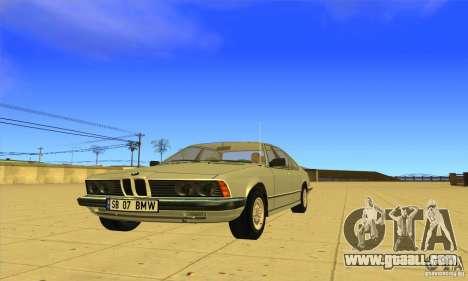 BMW 735i E23 1979 for GTA San Andreas
