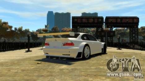 BMW E46 M3 GTR Sport for GTA 4 back left view