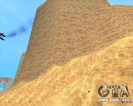 Desert HQ for GTA San Andreas fifth screenshot