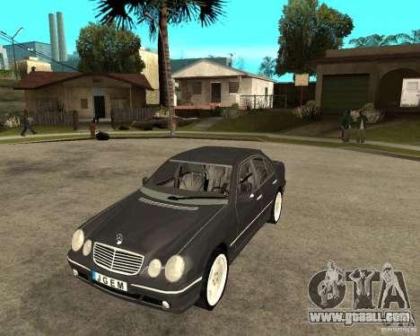 Mercedes–Benz E Class for GTA San Andreas