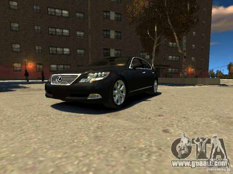 Lexus LS600 V2.0 for GTA 4