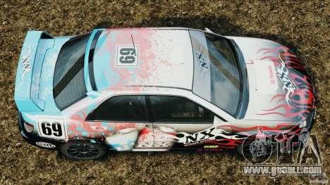 Subaru Impreza WRX STI N12 for GTA 4 right view