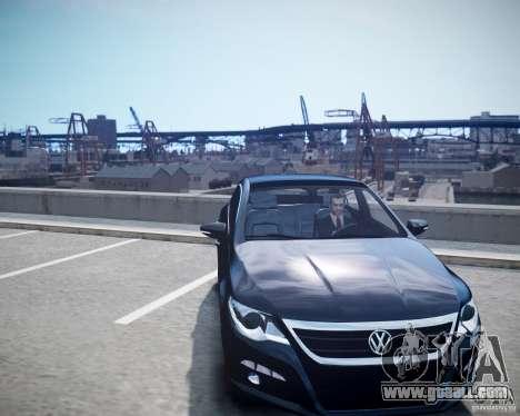 Volkswagen Passat CC for GTA 4 right view