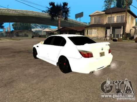 Bmw M5 Ls Ninja Stiil for GTA San Andreas left view