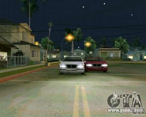 Elegant Limo for GTA San Andreas inner view
