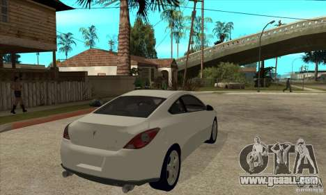 Pontiac G6 Stock Version for GTA San Andreas right view
