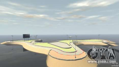 Drifttrack IV for GTA 4 second screenshot