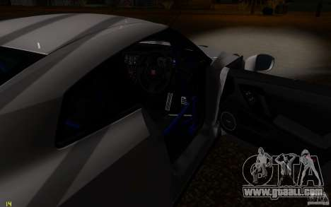 Nissan GTR R35 Spec-V 2010 for GTA San Andreas upper view