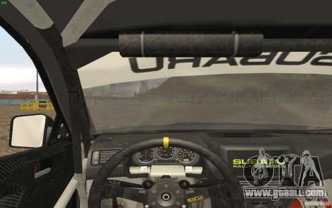 Subaru Impreza WRX Gymkhana2 Beta for GTA San Andreas back view