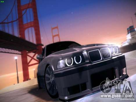 BMW M3 E36 320i Tunable for GTA San Andreas left view
