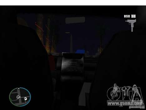 Taxi mod for GTA San Andreas third screenshot