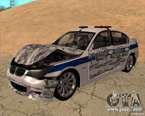 BMW M5 E60 DPS for GTA San Andreas side view