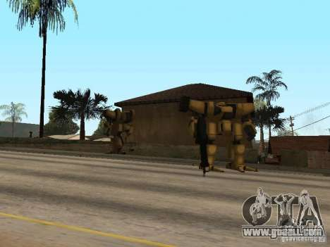 Transformers for GTA San Andreas second screenshot