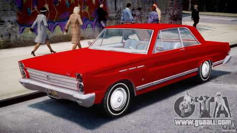Ford Mercury Comet 1965 [Final] for GTA 4 inner view