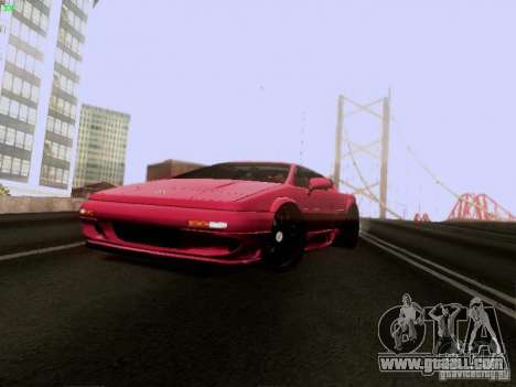 Lotus Esprit V8 for GTA San Andreas side view