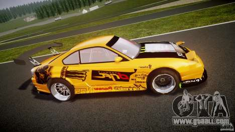 Nissan S330SX GT Drift Texture for GTA 4 left view