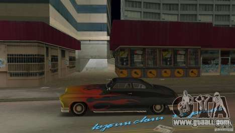 Cuban Hermes HD for GTA Vice City left view