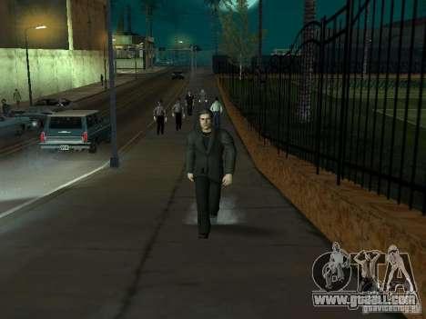 Black Stallion Peds for GTA San Andreas sixth screenshot