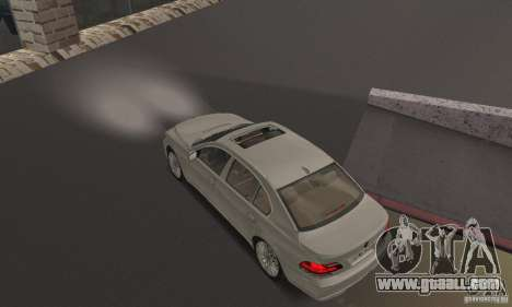Bright white headlights for GTA San Andreas