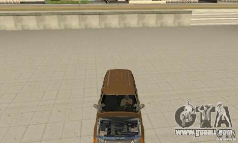 Ford Explorer 2002 for GTA San Andreas inner view