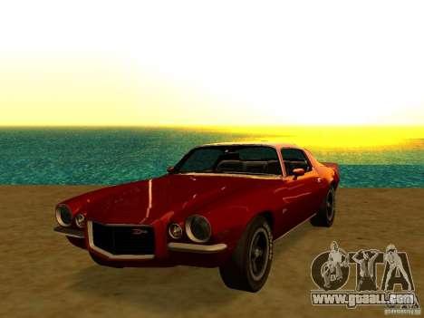 Chevrolet Camaro Z28 1972 for GTA San Andreas