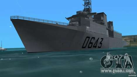 Fregate F70 ASM for GTA Vice City
