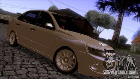 VAZ 2190 Granta for GTA San Andreas back view
