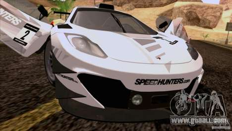 McLaren MP4-12C Speedhunters Edition for GTA San Andreas