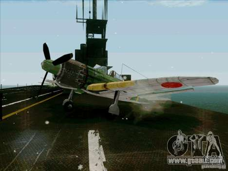 Japanese aircraft for GTA San Andreas