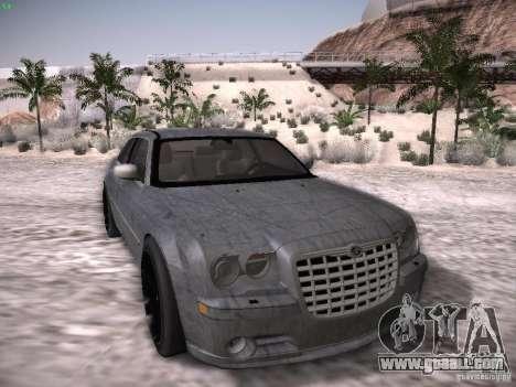Chrysler 300C SRT8 for GTA San Andreas bottom view