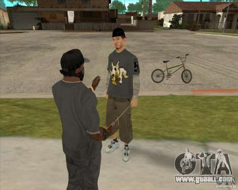 Buying a bottle of the Grove for GTA San Andreas third screenshot