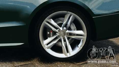 Audi S5 for GTA 4 bottom view