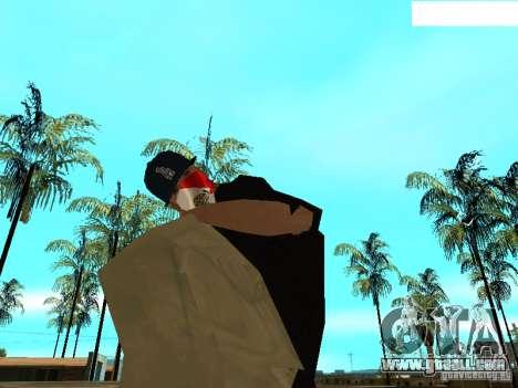 Mexicano Skin for GTA San Andreas fifth screenshot