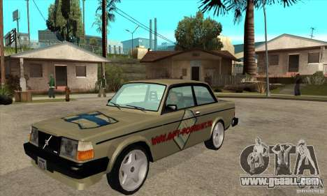 Volvo 240 Turbo for GTA San Andreas