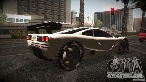 McLaren F1 LM for GTA San Andreas right view