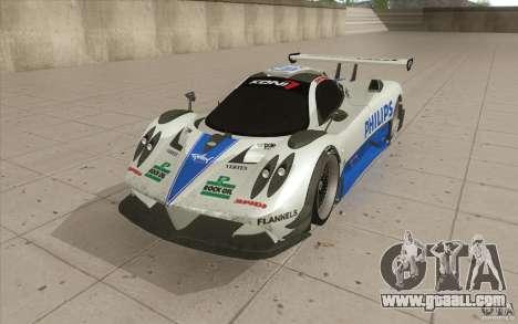 Pagani Zonda Racing Edit for GTA San Andreas