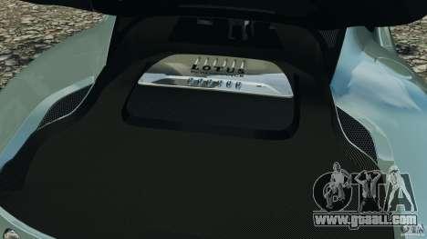 Lotus Evora 2009 v1.0 for GTA 4 side view