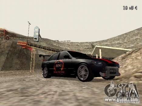 Toyota Altezza NKS Drift for GTA San Andreas back view